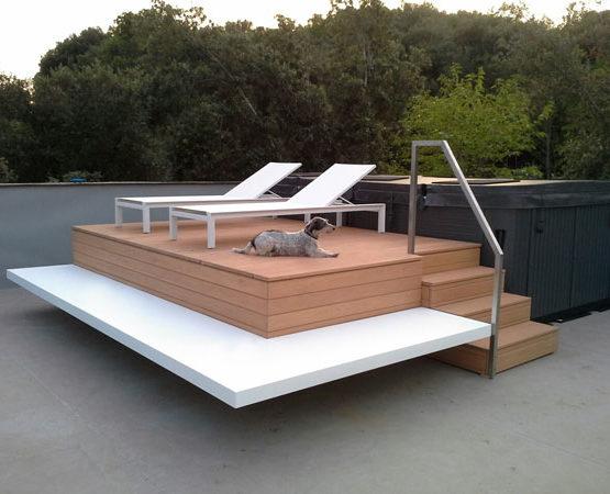 Platforma pored bazena Biot Francuska tik90 Stolarska radionica Tik Sremska Mitrovica