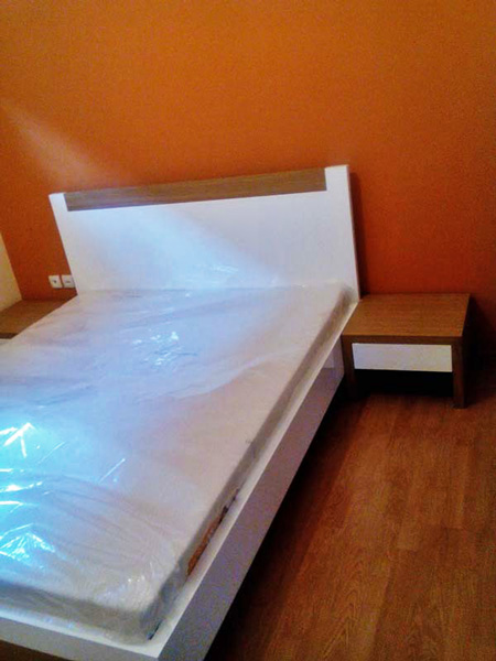 Spavaća soba Ravena Hrast tik90 Stolarska radionica Tik Sremska Mitrovica