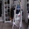 Ogledalo Julieta Stolarska radionica TIk Sresma Mitrovica Tik90